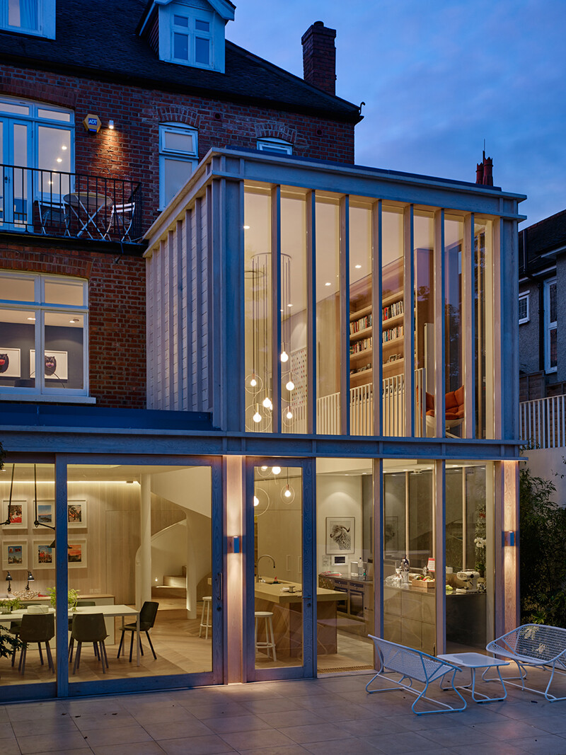 Edwardian Home in West London Andy Martin Architecture (13)