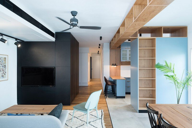 Family Apartment in Tel Aviv Raanan Stern Design
