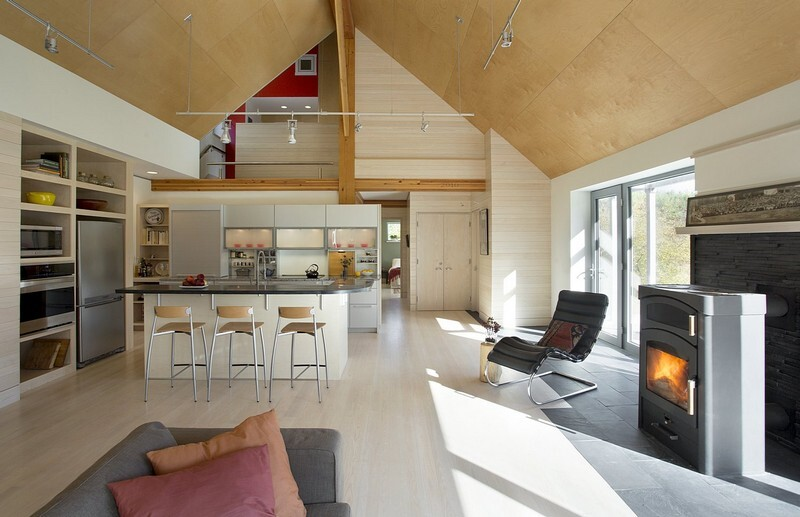 Farmstead Passive House in Vermont for the Modern New England Family (10)