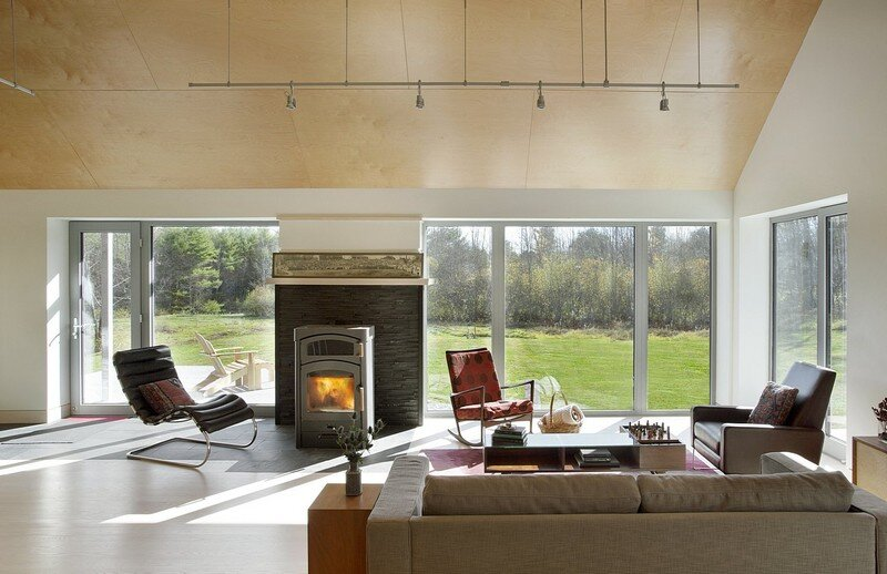 Farmstead Passive House in Vermont for the Modern New England Family (5)
