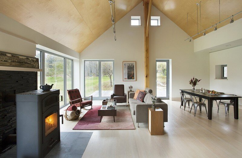 Farmstead Passive House in Vermont for the Modern New England Family (9)
