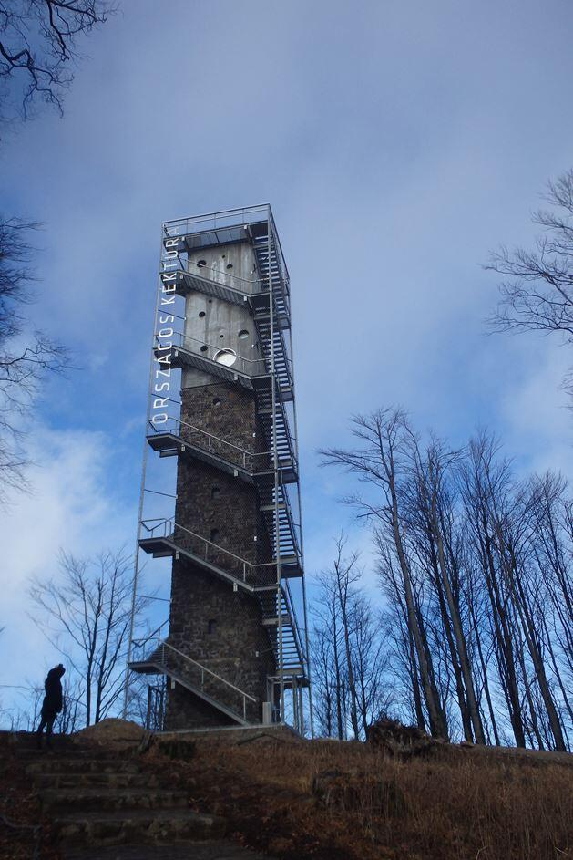 Galyateto Lookout Tower in Matra Mountains, Hungary (10)