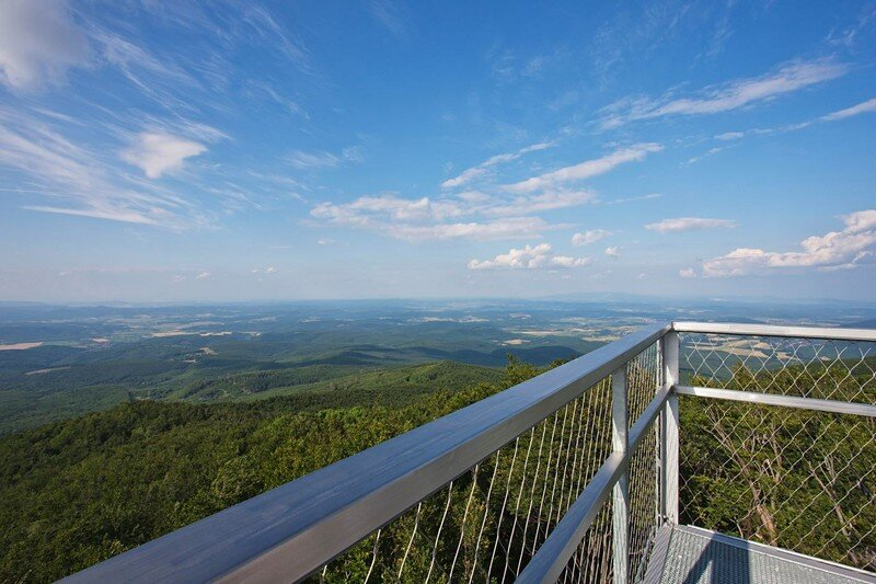 Galyateto Lookout Tower in Matra Mountains, Hungary (5)