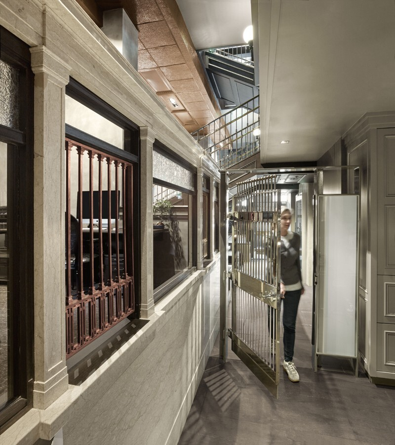 Historic Bank Building Converted into Modern Office Space (5)