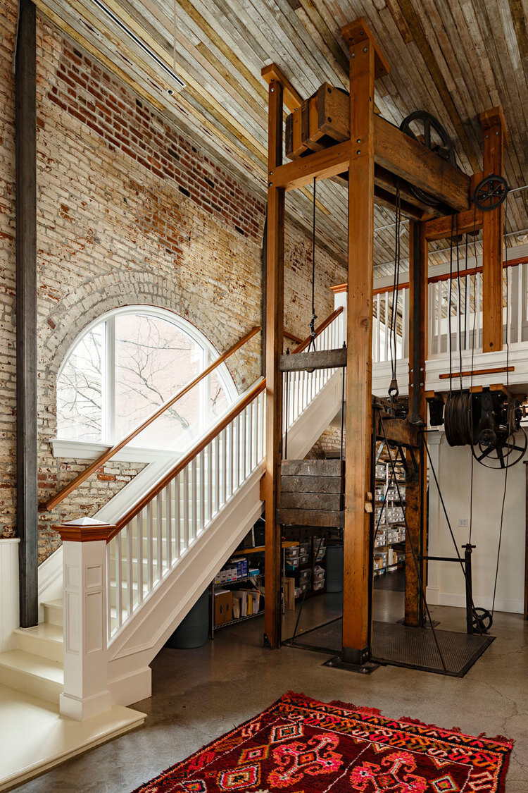 Historic Railway Building Transformed into Office by Jessica Helgerson 3