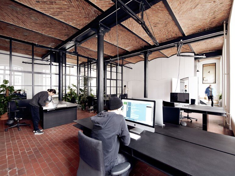 IFUB Studio Has Converted an Old Chocolate Factory in Offices (4)