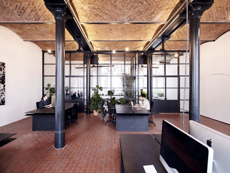 IFUB Studio Has Converted an Old Chocolate Factory in Offices (7)