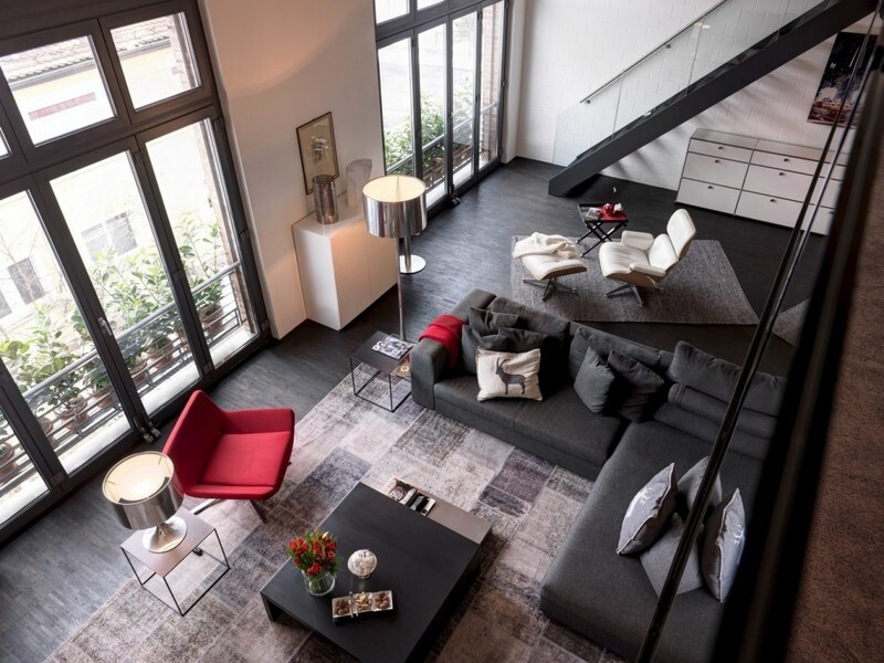 Industrial Apartment in Zurich by Daniele Claudio Taddei Architect (1)