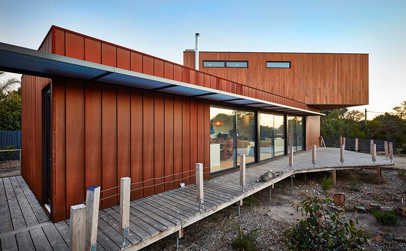 Modular House on the Shores of Port Philip Bay (8)