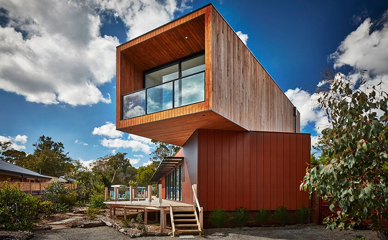 Modular House On The Shores Of Port Phillip Bay