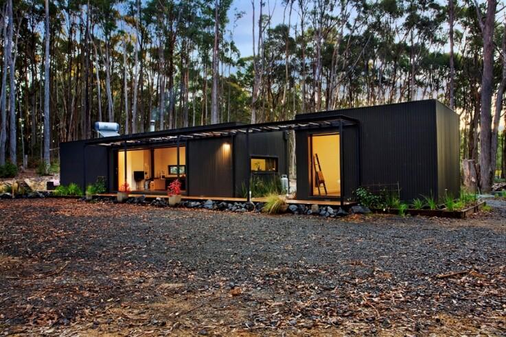 Musk Bunker - Modern Prefab Cabin by Modscape (10)