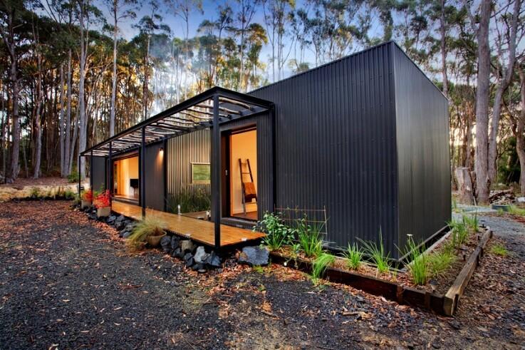 Musk Bunker - Modern Prefab Cabin by Modscape (11)