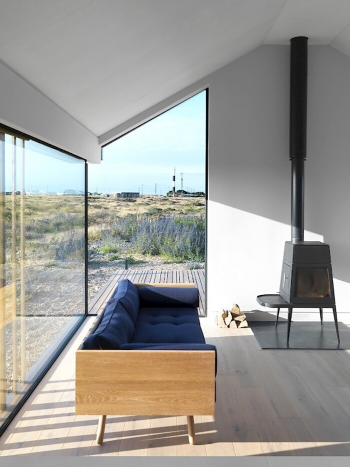 Pobble house contemporary cottage decorated in for Minimalist cottage style