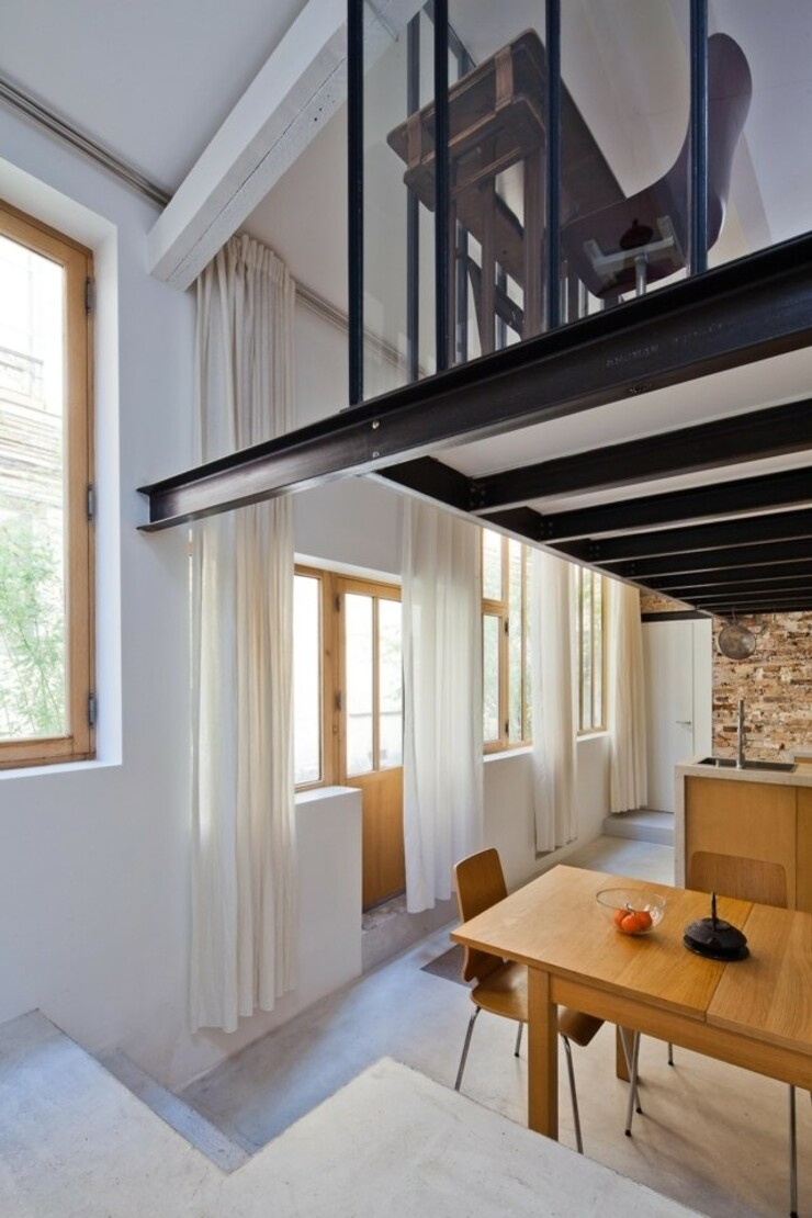 Reconstruction of the Artist's Studio in a Residential Loft, Paris (