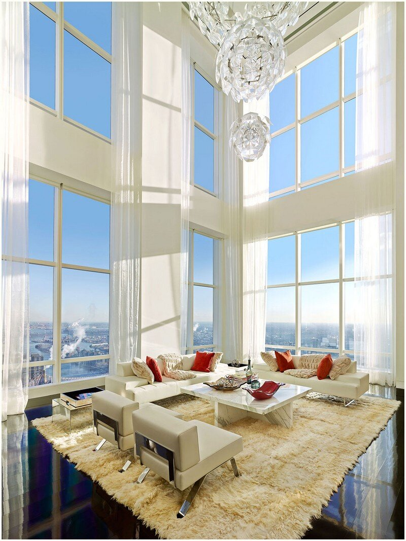 This 72-floor Penthouse Has a 360-Degree Views of New York City (17)