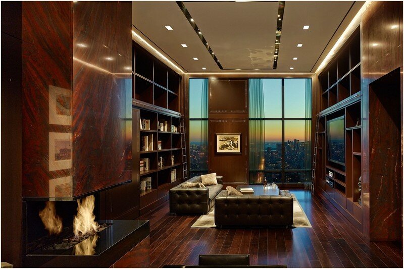 This 72-floor Penthouse Has a 360-Degree Views of New York City (18)