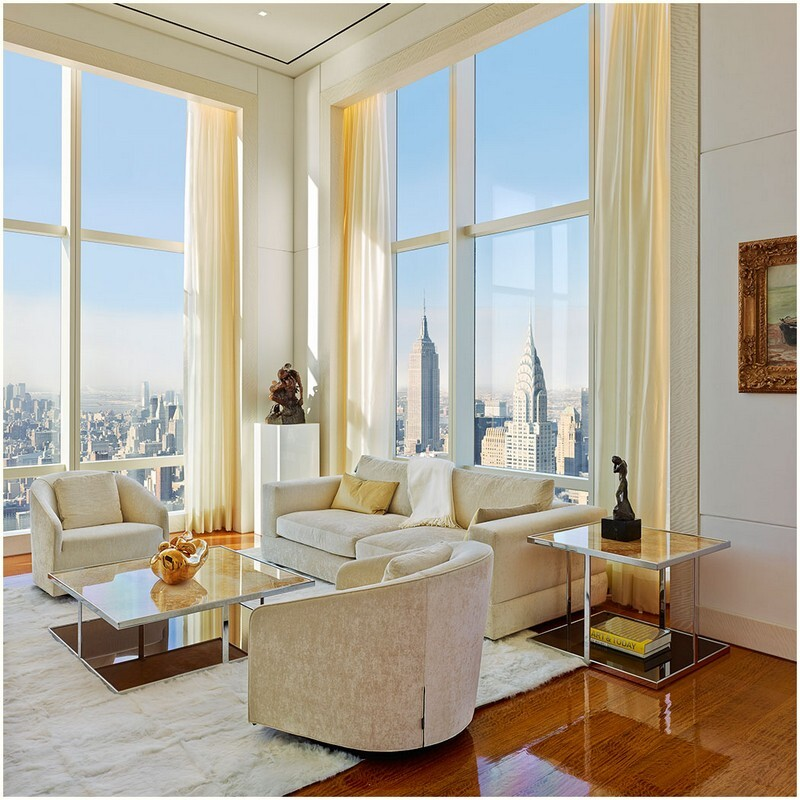 This 72-floor Penthouse Has a 360-Degree Views of New York City (5)