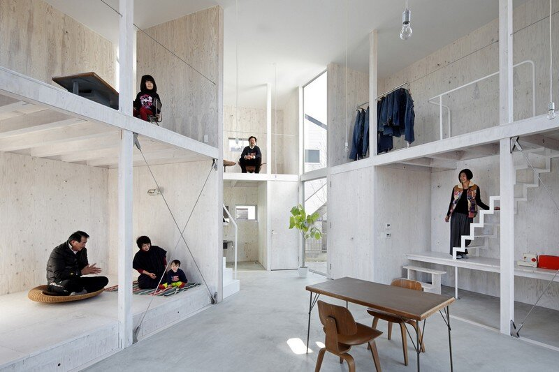 Unfinished House by Yamazaki Kentaro Design Workshop