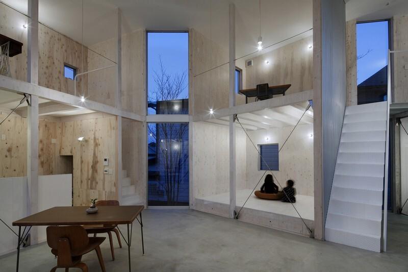 Unfinished House by Yamazaki Kentaro Design Workshop (11)