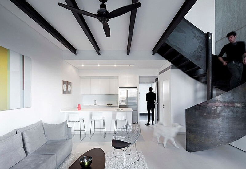 Urban Duplex Nam in Tel Aviv by Gerstner (1)