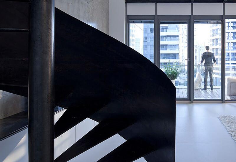 Urban Duplex Nam in Tel Aviv by Gerstner (11)
