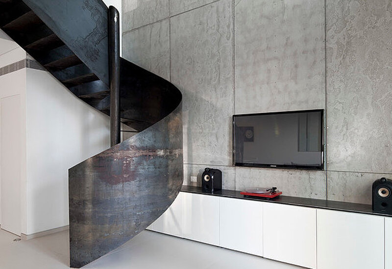Urban Duplex Nam in Tel Aviv by Gerstner (3)
