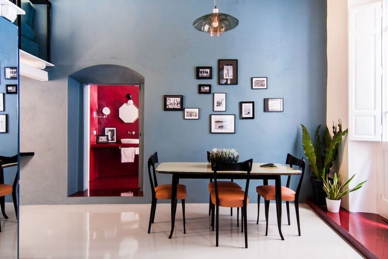 Cobalt Apartment by Mauro and Matteo Soddu Italy (11)