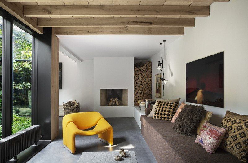 Copenhagen Warehouse Converted into a Private Residence Studio David Thulstrup (21)