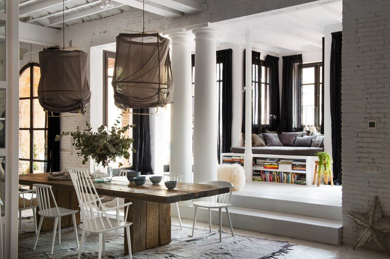 Eixample Loft - Two Apartments United into a Charming Home (15)