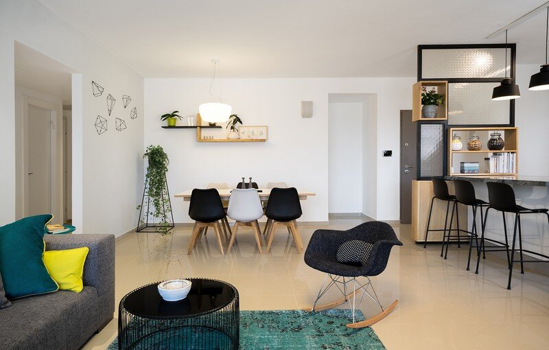 Five Rooms Apartment - Little Drop Of Black by EN Studio (1)