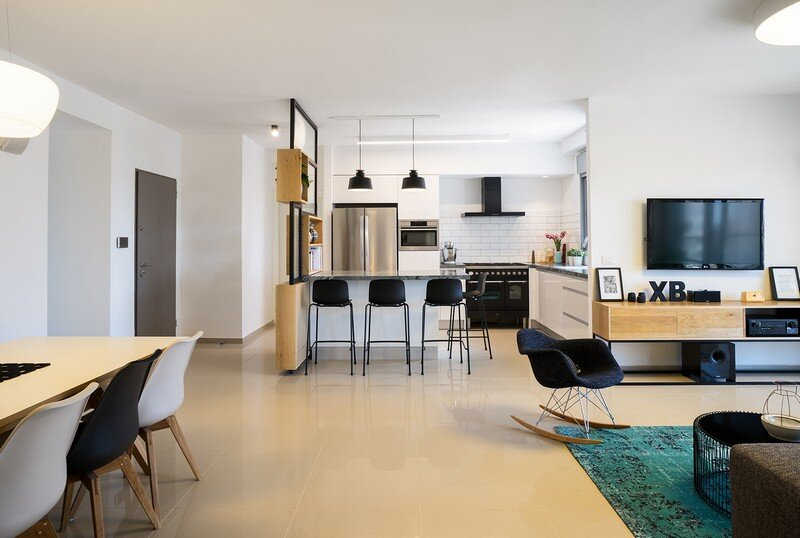 Five Rooms Apartment - Little Drop Of Black by EN Studio (19)