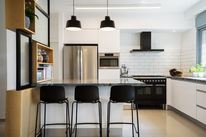 Five Rooms Apartment - Little Drop Of Black by EN Studio (5)
