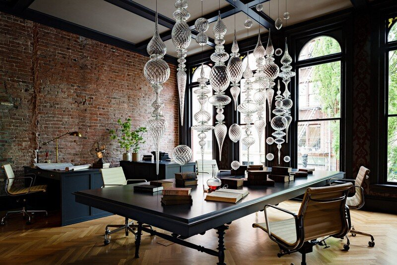 Gothic Office in an 1870s Historic Gothic Revival Building (1)