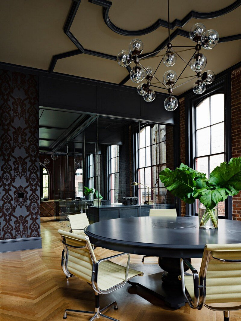 Gothic Office in an 1870s Historic Gothic Revival Building (5)