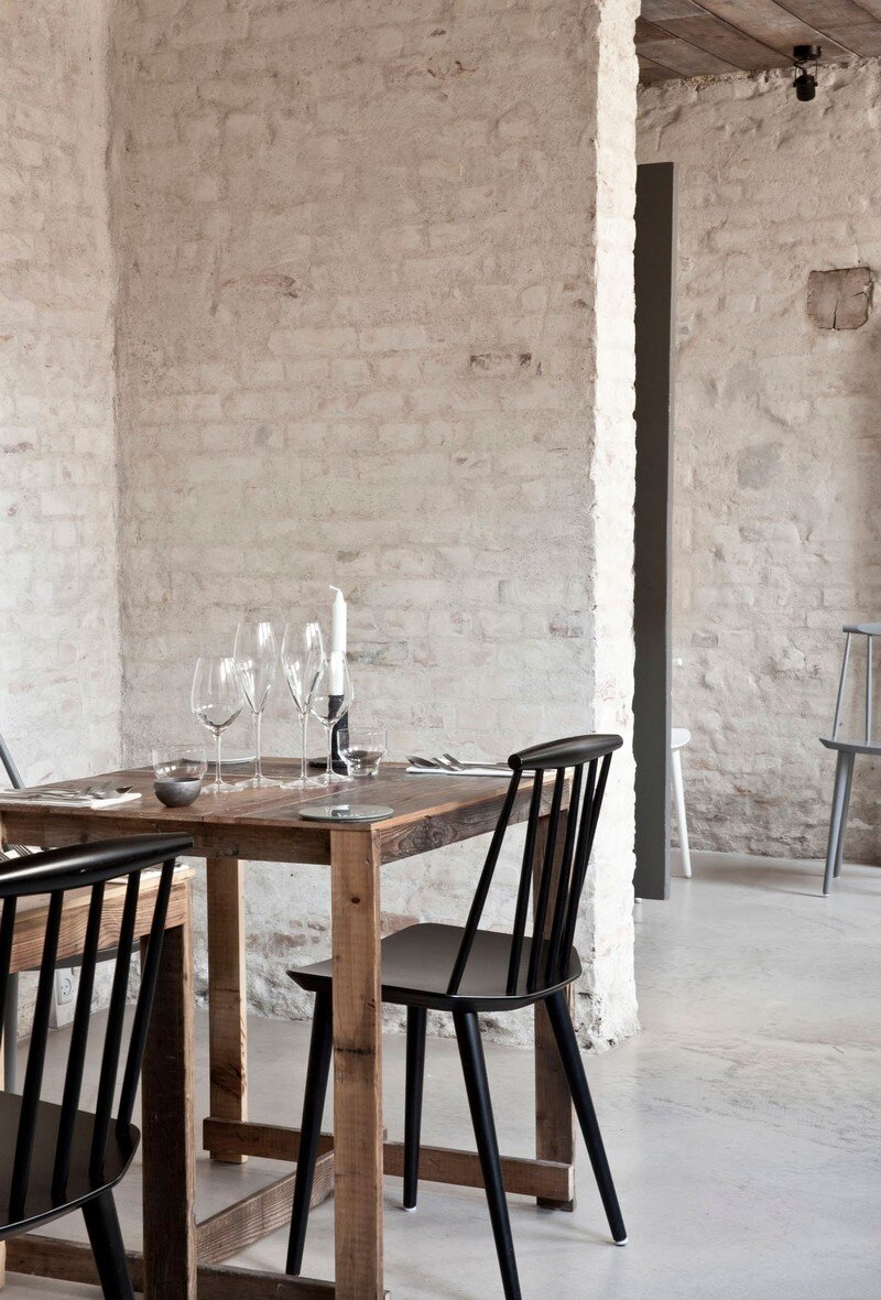 Host Restaurant Rustic Scandinavian Interior By Norm
