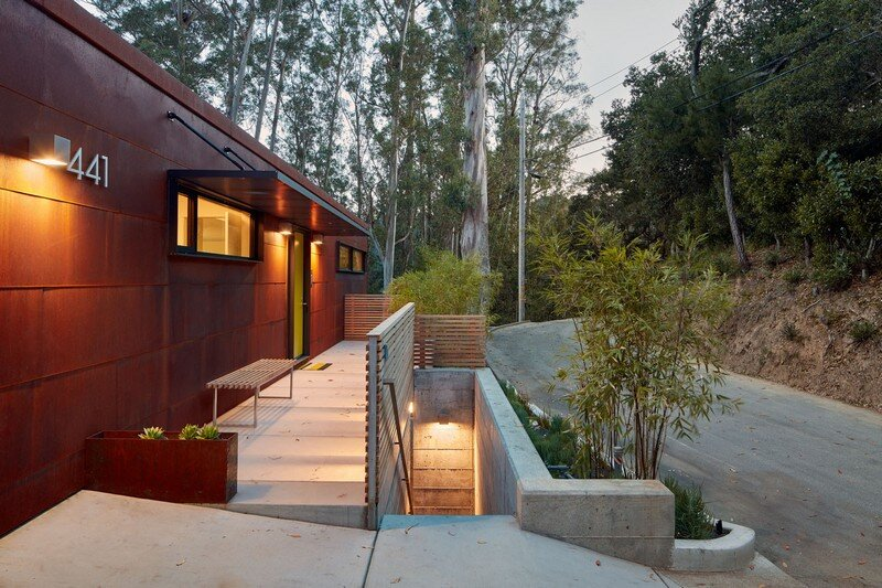 Hillside Residence by Zack de Vito Architecture California (19)