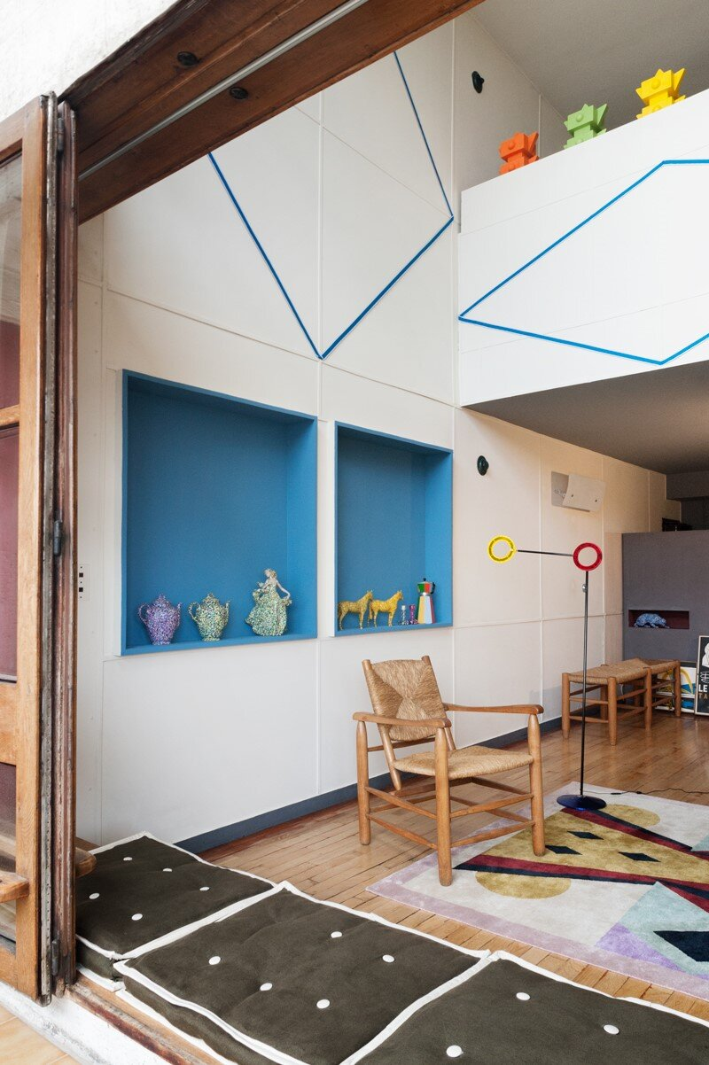 Le Corbusier Apartment 50 Unite Dhabitation Marseille on design for small living area