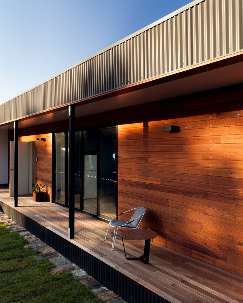 Prefab Beach House With Green Roof Archiblox