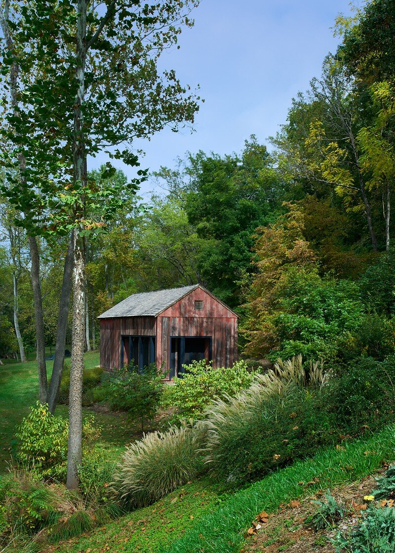 Red Barn at Hazel River Cabin Bonstra Haresign Architects 2