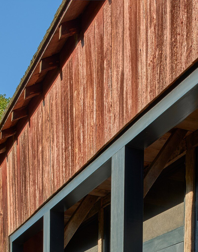 Red Barn at Hazel River Cabin Bonstra Haresign Architects 8