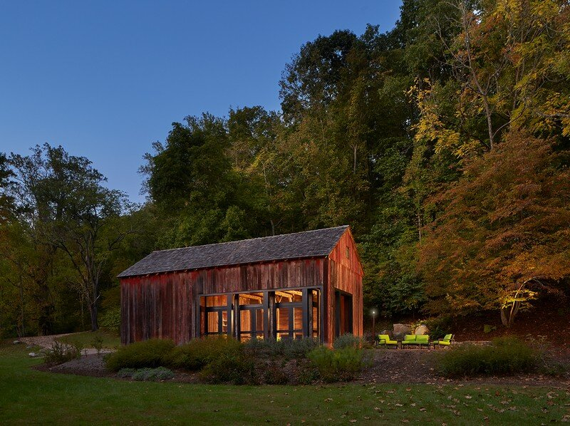 Red Barn at Hazel River Cabin Bonstra Haresign Architects 9