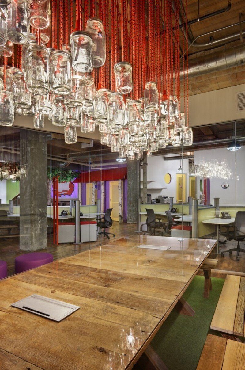 Red frog events offices by nelson chicago for House interior design event