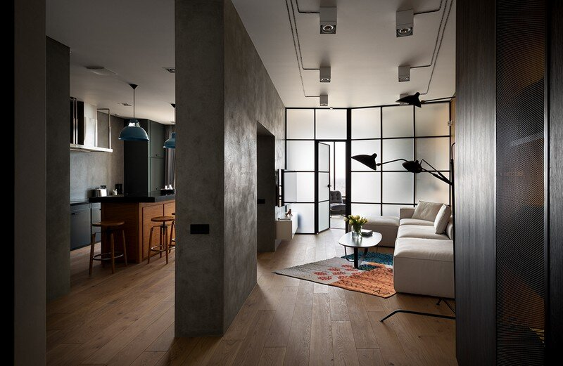 Skyline Loft by Sergey Makhno Architects / Kiev