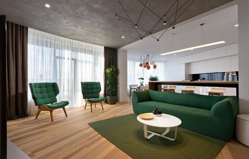Skyline Minimalist Apartment by Sergey Makhno Architects (1)