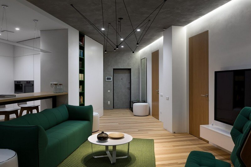 Skyline Minimalist Apartment by Sergey Makhno Architects (11)