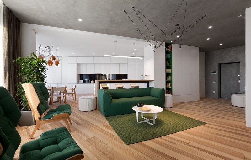 Skyline Minimalist Apartment by Sergey Makhno Architects (2)