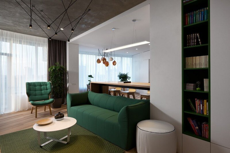 Skyline Minimalist Apartment by Sergey Makhno Architects (5)