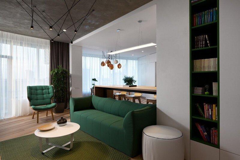 Skyline Minimalist Apartment by Sergey Makhno Architects (5)