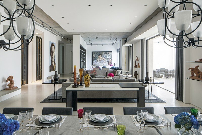 Sophisticated Home in Sao Paulo by Grade