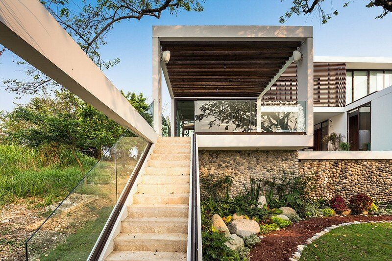 tropical eco friendly house by alberto zavala arquitectos rh homeworlddesign com